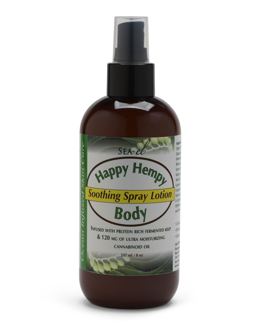SEA-EL 8oz Cbd Oil Infused Body Spray Lotion $14.99