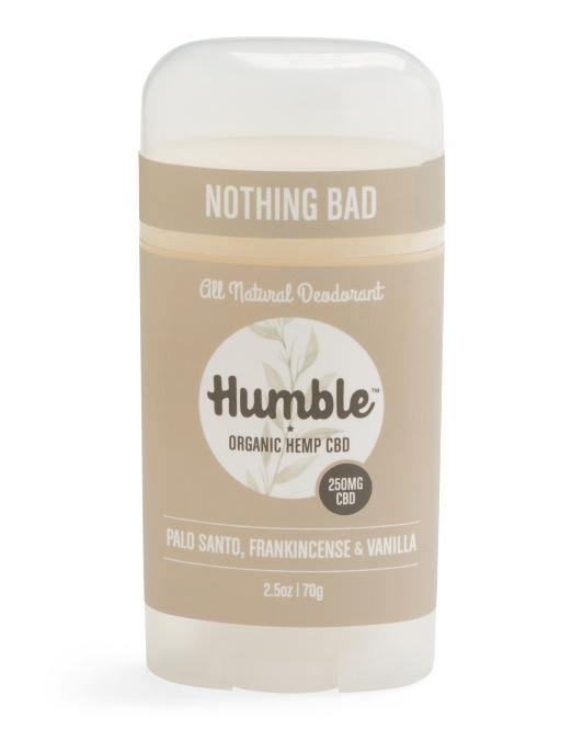 Cbd Organic Hemp Deodorant $9.99