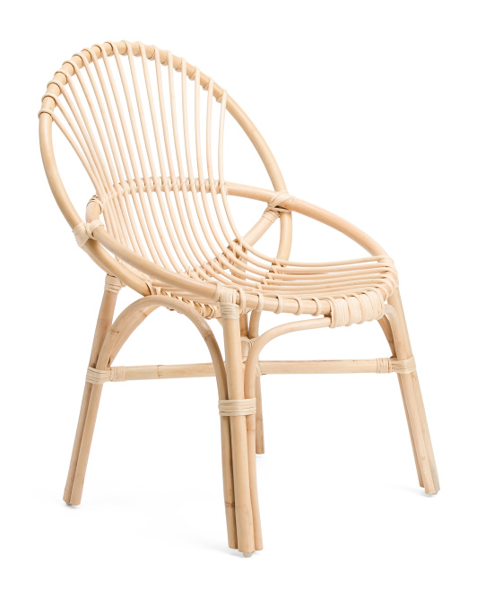 JAY IMPORT Rattan Peacock Chair $129.99