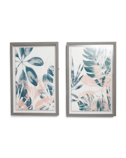 MARMONT HILL INC Set Of 2 Leaves Wall Art$39.99https://fave.co/2LLLICK