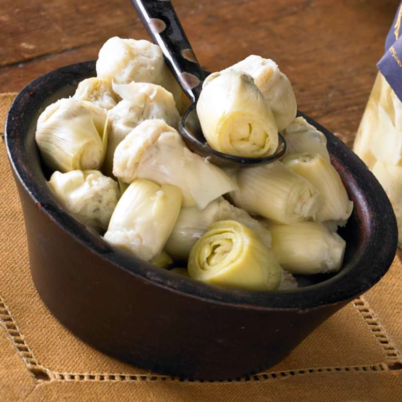 Baby Artichoke Hearts from Navarra $14.95