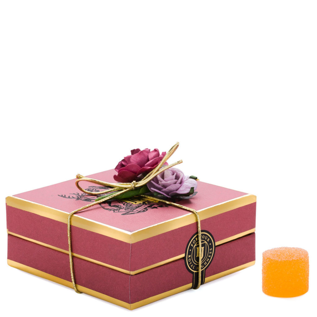 LORD JONES Limited Edition Apricot Rose Gumdrops $50