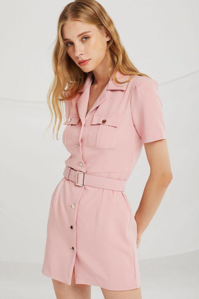 Adeline Safari Dress $95.90
