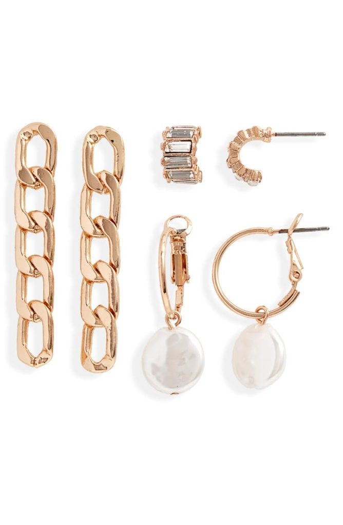 Set of 3 Earrings $35.00