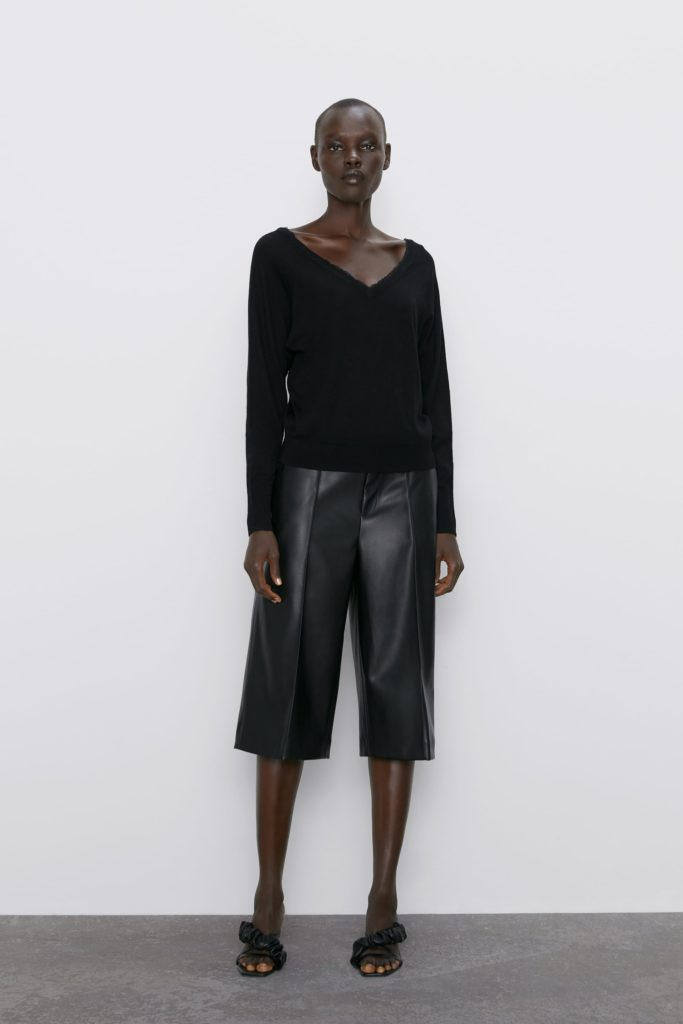 FAUX LEATHER SHORTS $39.90