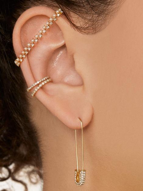 SAVOY PEARL EAR BAR CUFF$22.00