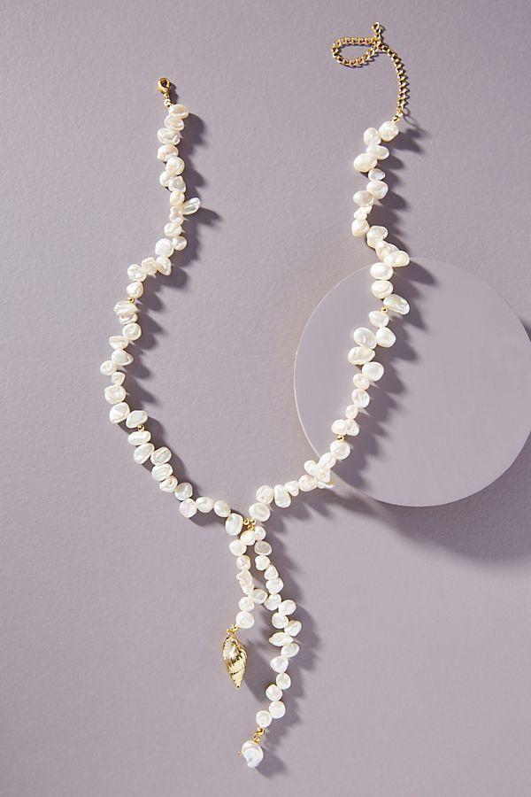 Amber Sceats Tully Pearl Necklace $178.00
