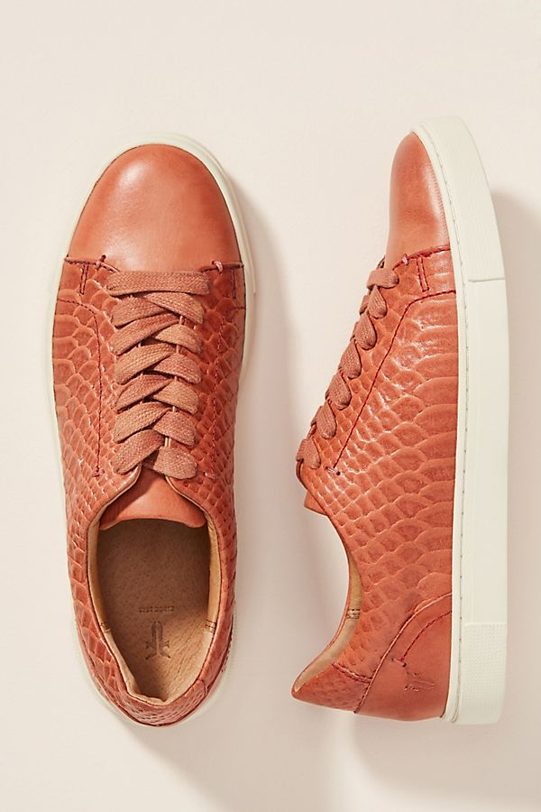 Frye Ivy Leather Sneakers $198.00