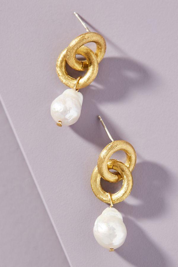 Petra Pearl Drop Earrings $48.00