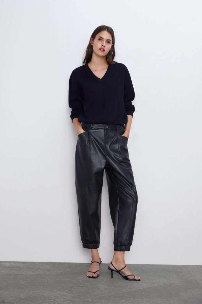 FAUX LEATHER PANTS $39.90