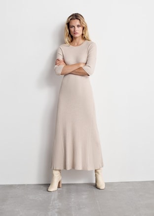 Ribbed long dress $59.99