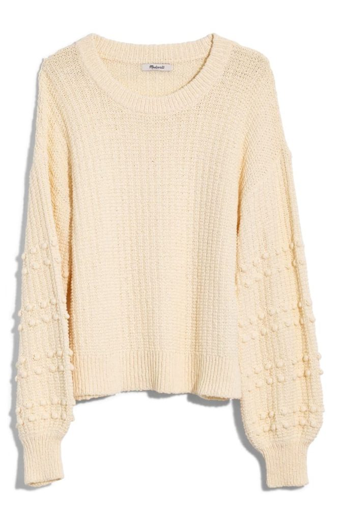 Bobble Sweater MADEWELL $98.00