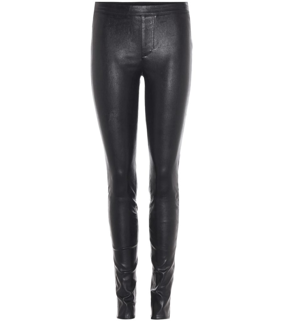 HELMUT LANG Leather trousers $ 920