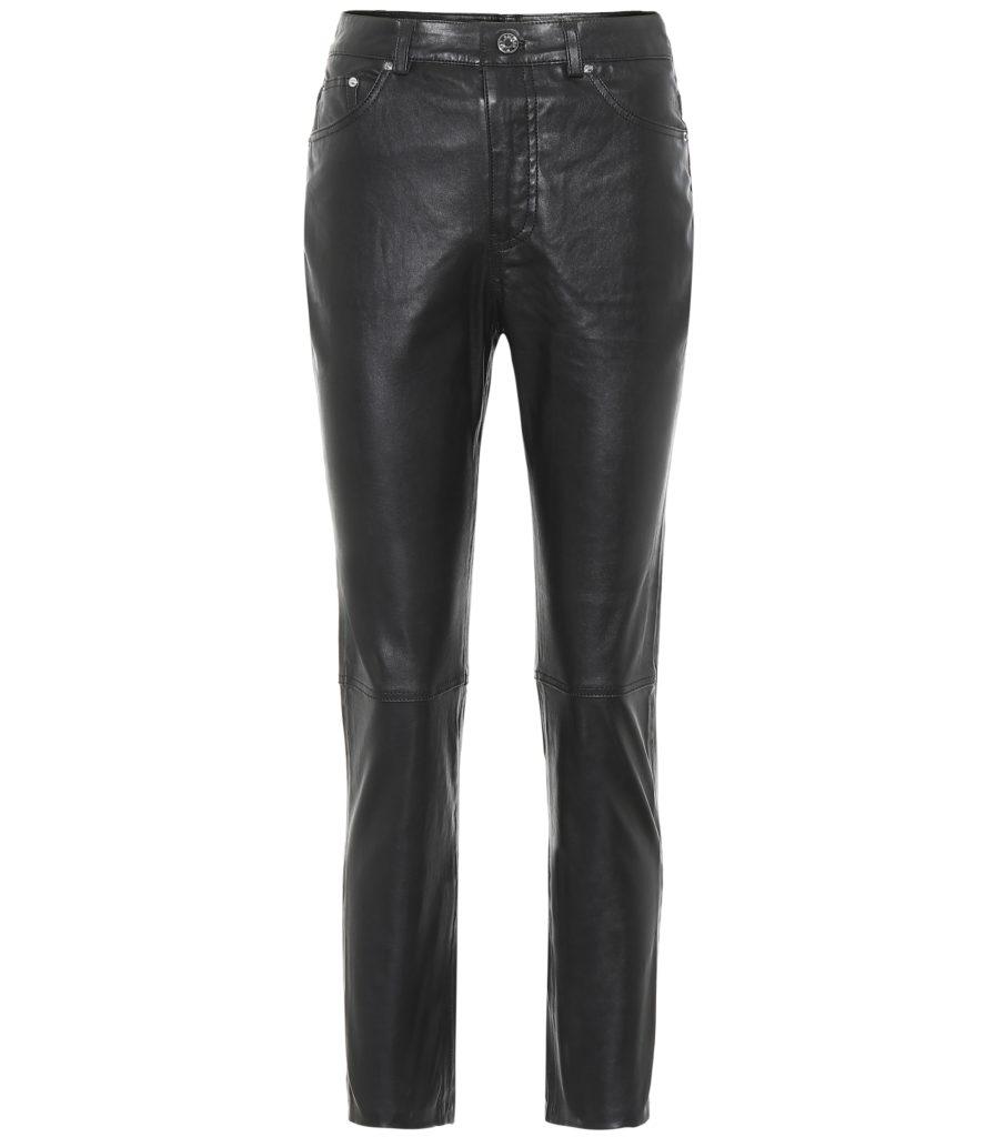 GRLFRND Shiloh straight leather pants $ 578