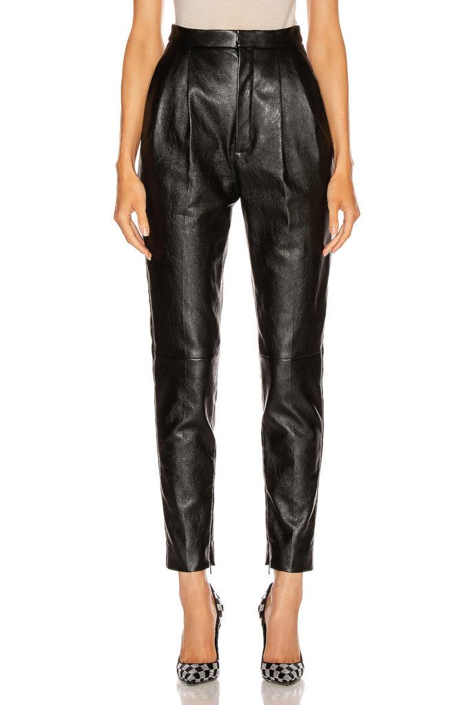 SAINT LAURENT Leather Pant $3,190