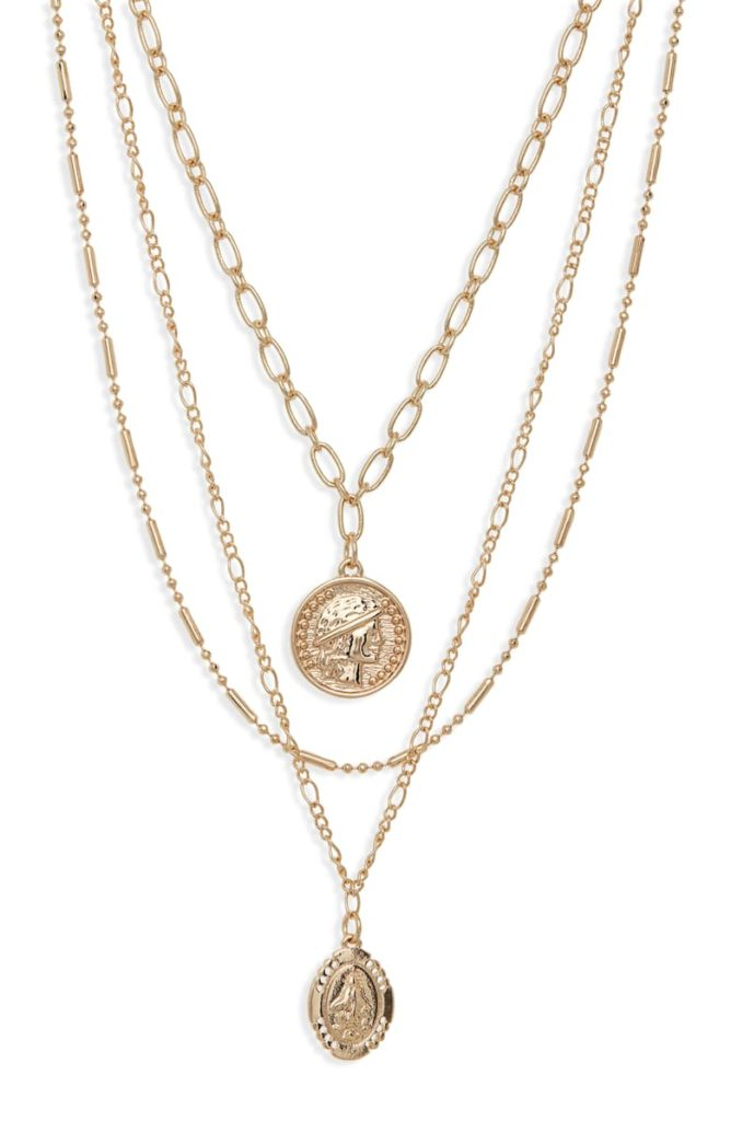 Set of 2 Medallion Necklaces BP. $29.00