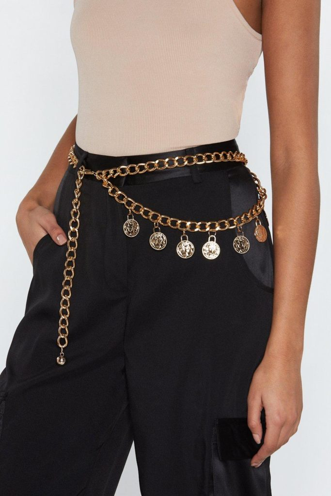 That Makes Cent Coin Chain Belt 12.00