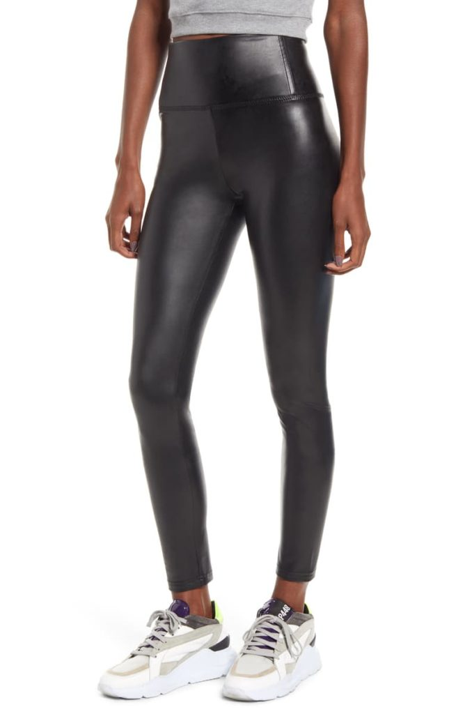 Faux Leather Leggings, Main, color, BLACKFaux Leather Leggings $49.00