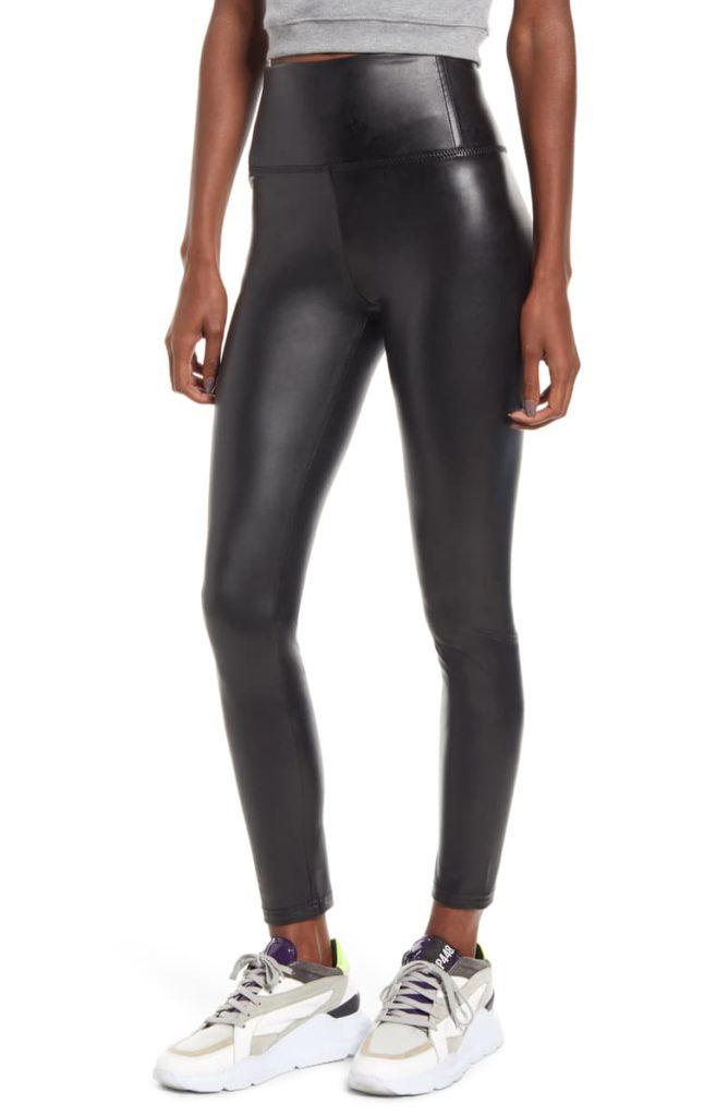 Faux Leather Leggings, Main, color, BLACKFaux Leather Leggings $49.00