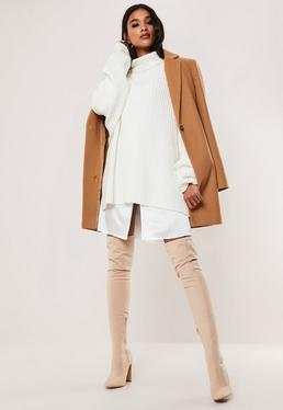 camel formal coat $76.00