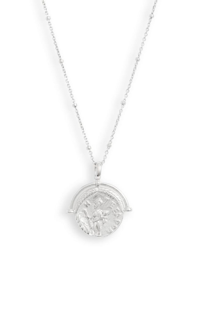Adina's Jewels Ancient Greek Coin Necklace $58.00