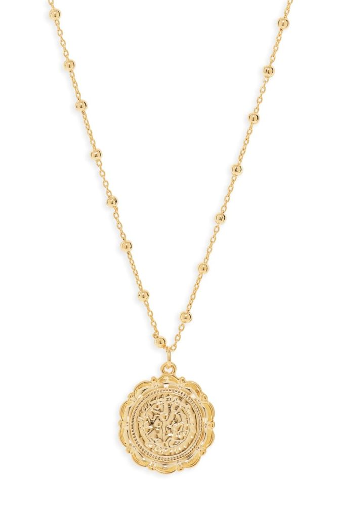 Atocha Coin NecklaceUNCOMMON JAMES BY KRISTIN CAVALLARI$64.00