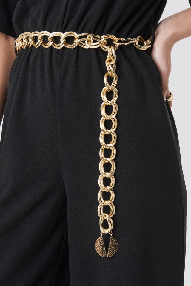 Chain Belt Gold $21.95
