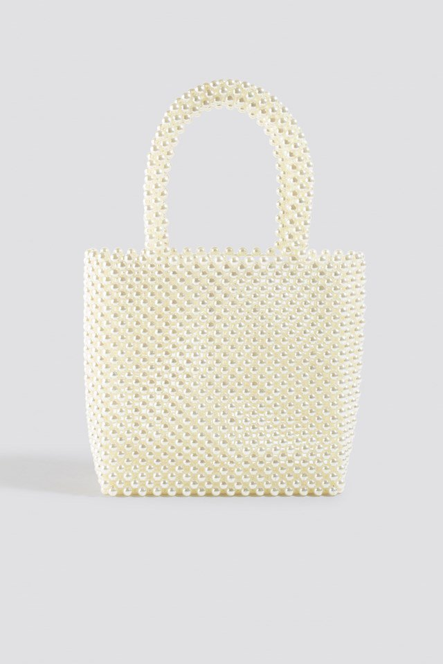 Pearl Bag White $47.95