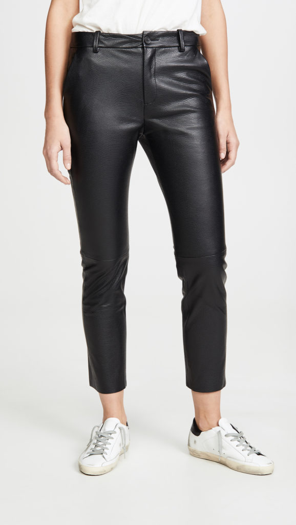 Nili Lotan Montauk Leather Pants $1,395.00