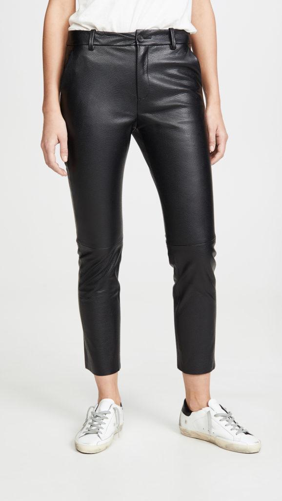 Nili Lotan Montauk Leather Pants $1,395.00