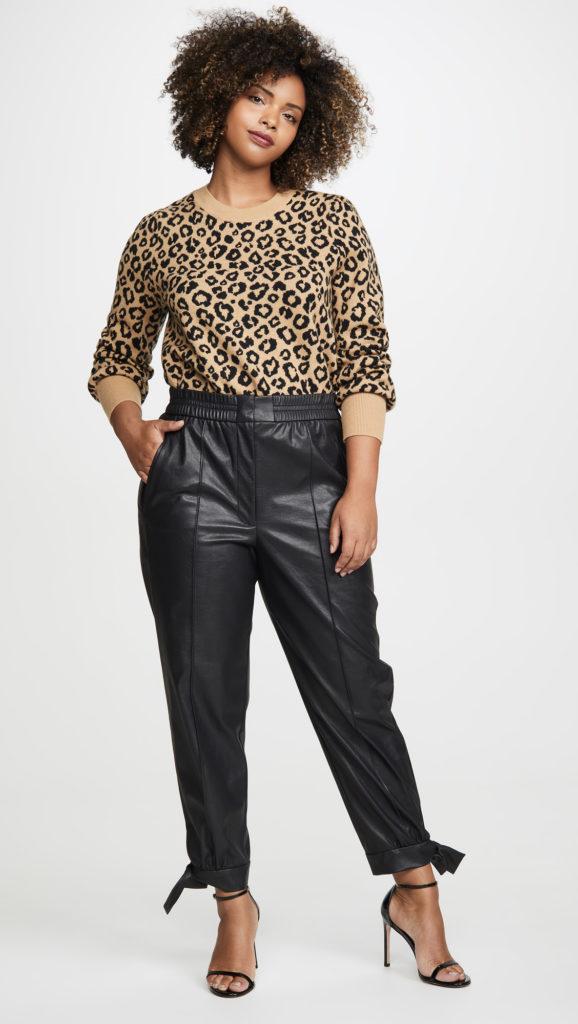 Rebecca Taylor Vegan Leather Pants $395.00