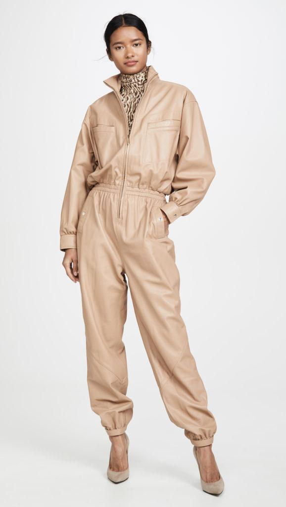 Zimmermann Espionage Leather Boiler Suit $2,650.00