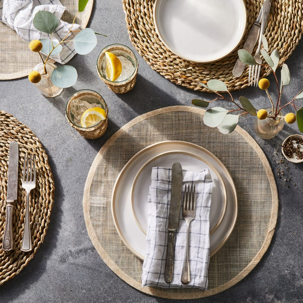 Lightweight Summer Placemats (Set of 4)$80–$96