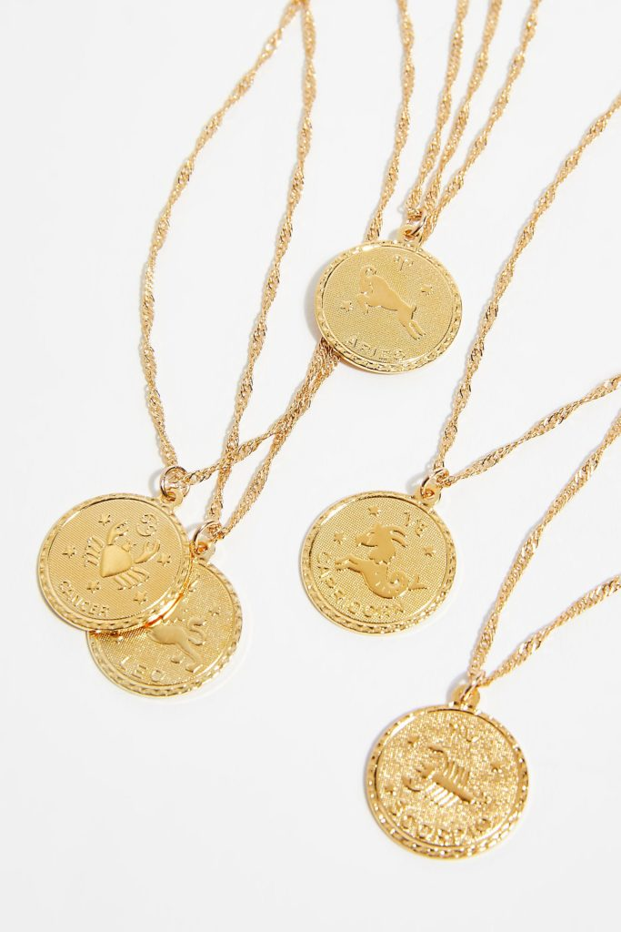 Ascending Medallion Necklace $55.00