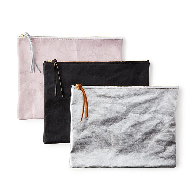 Sustainably Chic Paper Pouch $14.99