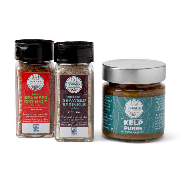 Sustainable Seaweed Seasoning Trio $25.00