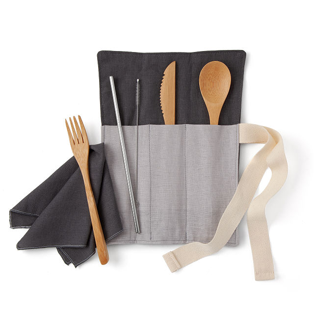 Zero Waste Utensil Wrap $36.00
