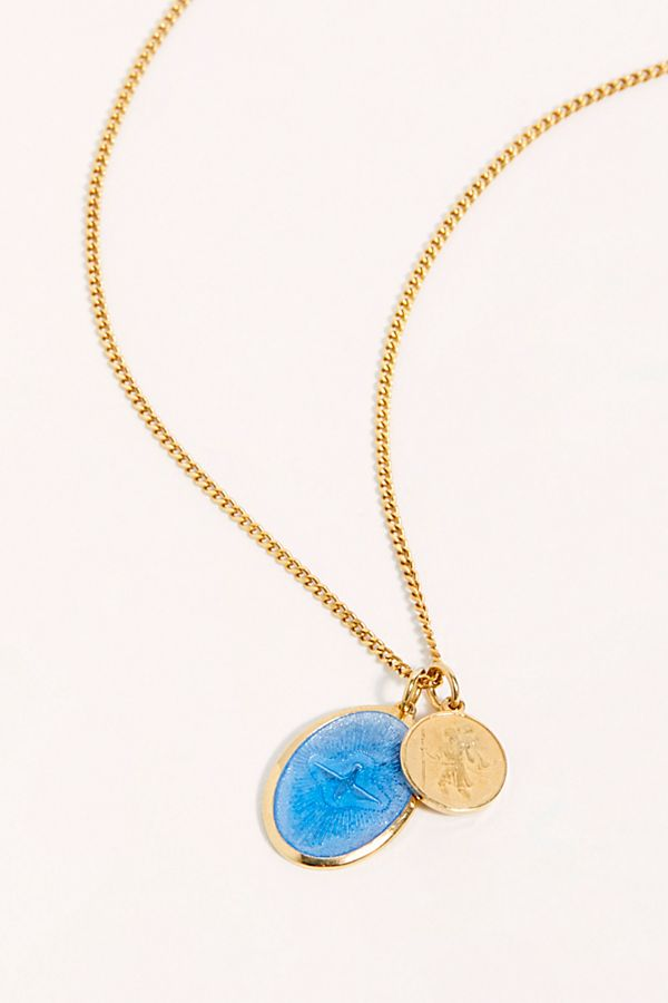 Miansai Mini Dove Pendant Necklace $175.00
