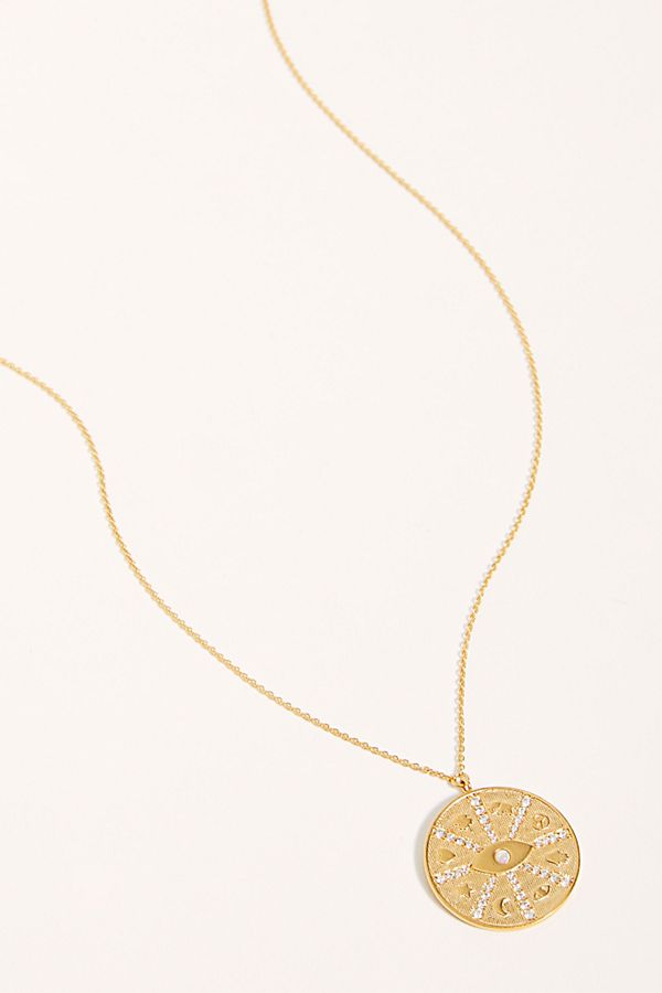 Tai Zodiac Pendant Necklace $95.00