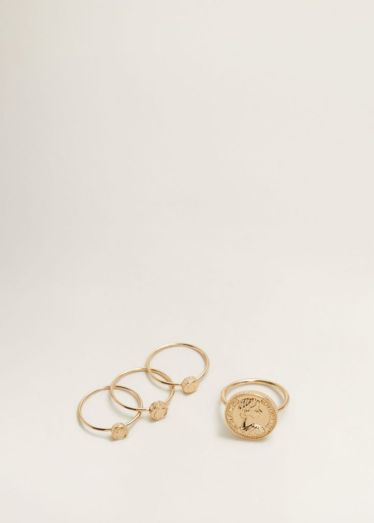 Metal ring set $15.99
