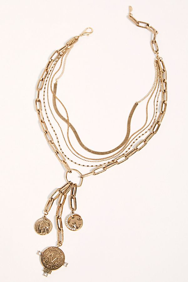 Gold Rush Collection Collar Necklace $40.00