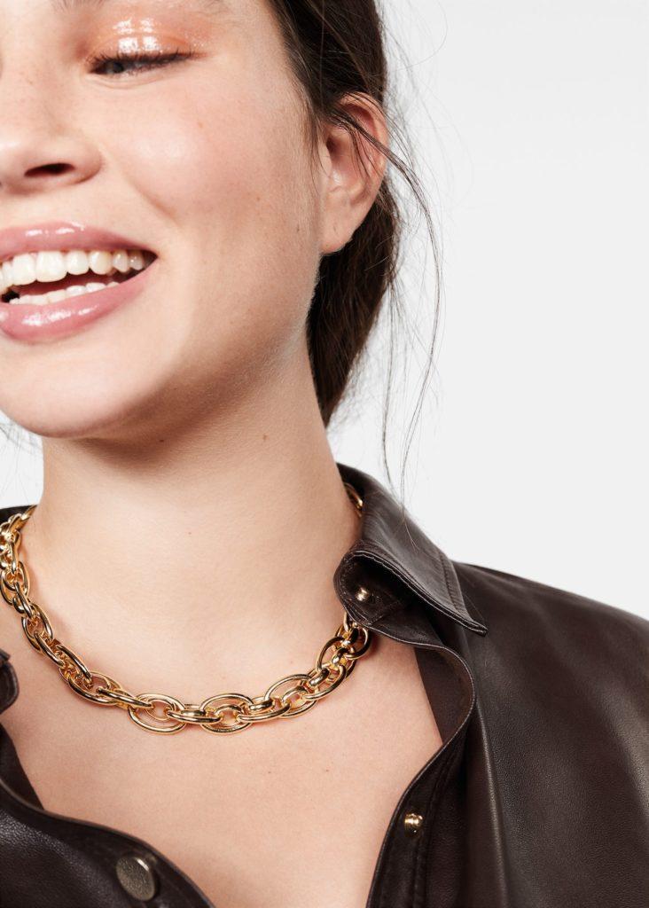 Mixed link collar $39.99