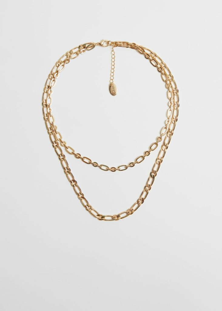 Chain waterfall necklace $29.99