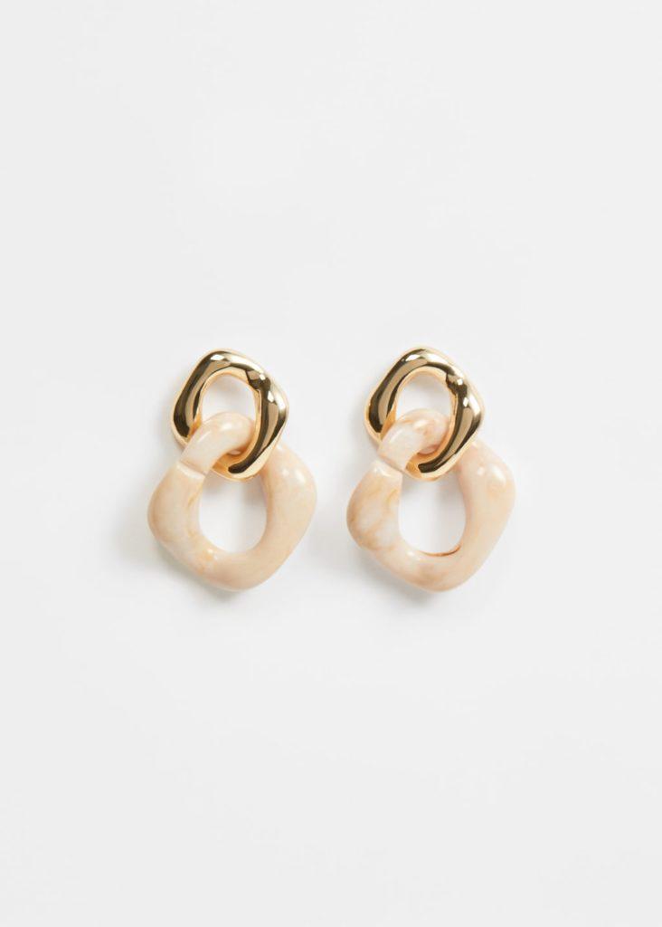 Link earrings $25.99