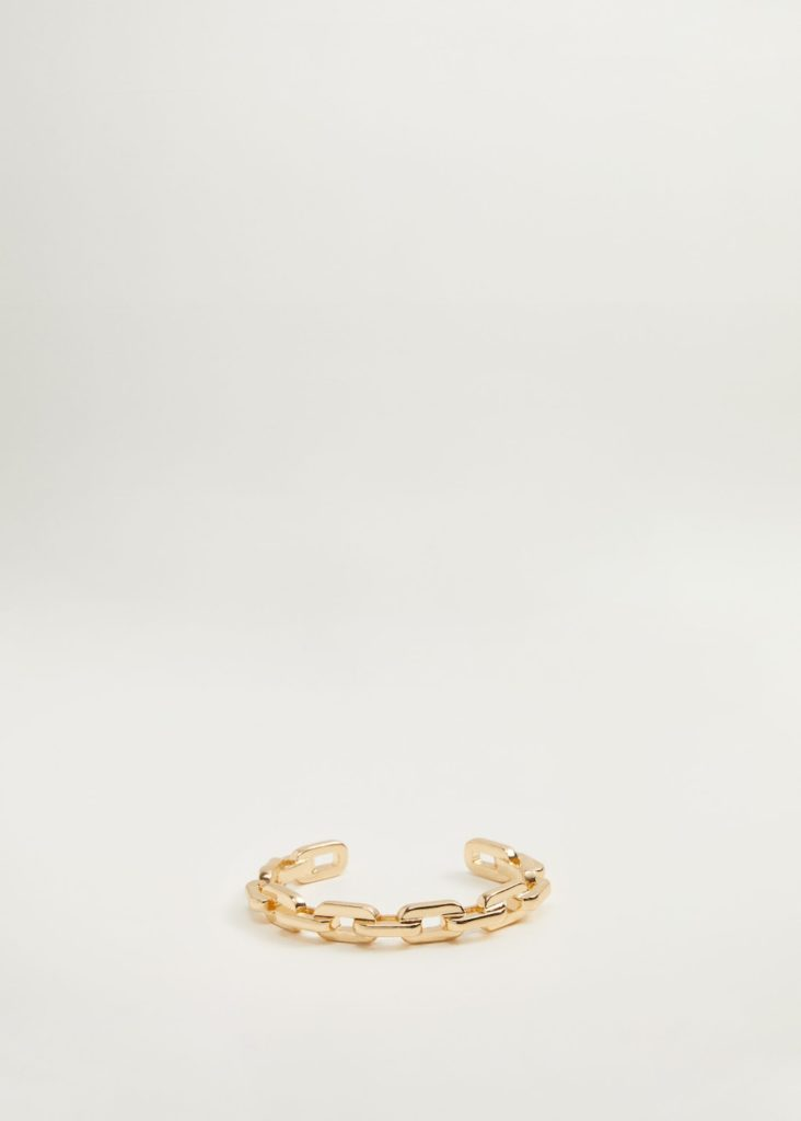 Link metal bracelet $25.99