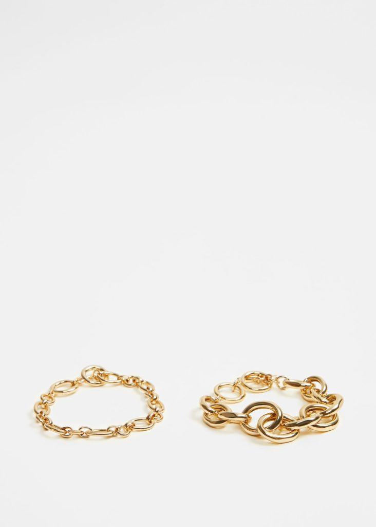 Link bracelets $29.99