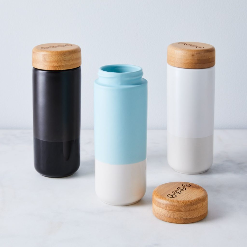 Soma Double Walled Ceramic To-Go Tumbler$34