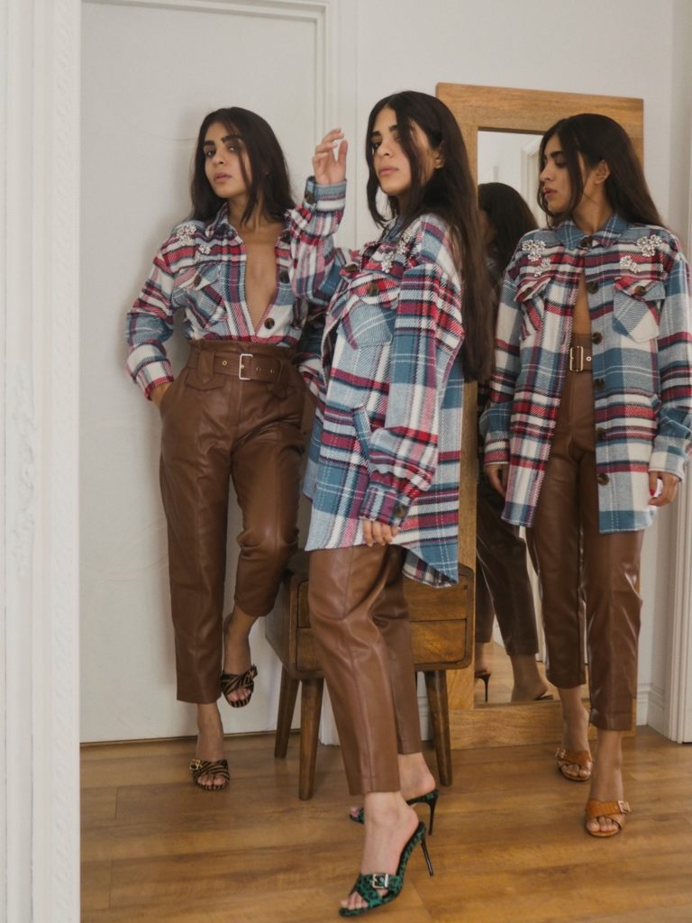 The Brown Uma Trousers $90.00