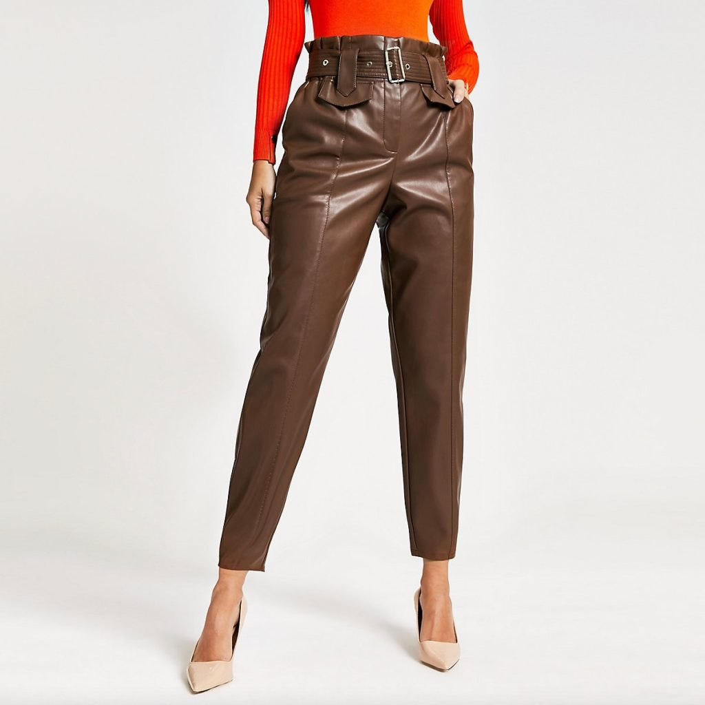 The Brown Uma Trousers $90.00