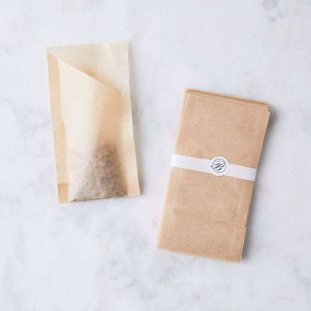 Biodegradable Tea Bags $28